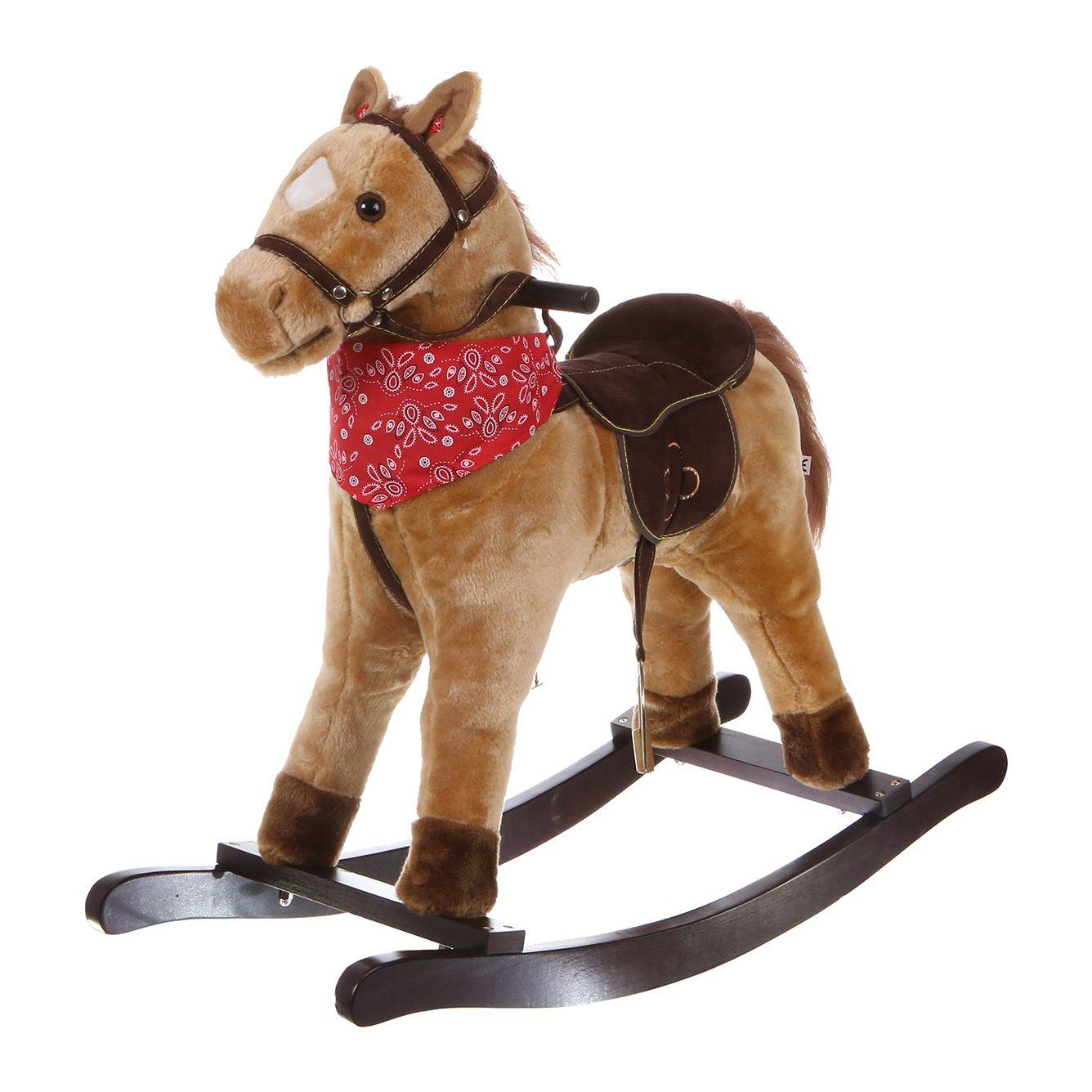 Bujany Koń Na Biegunach Dla Dzieci
