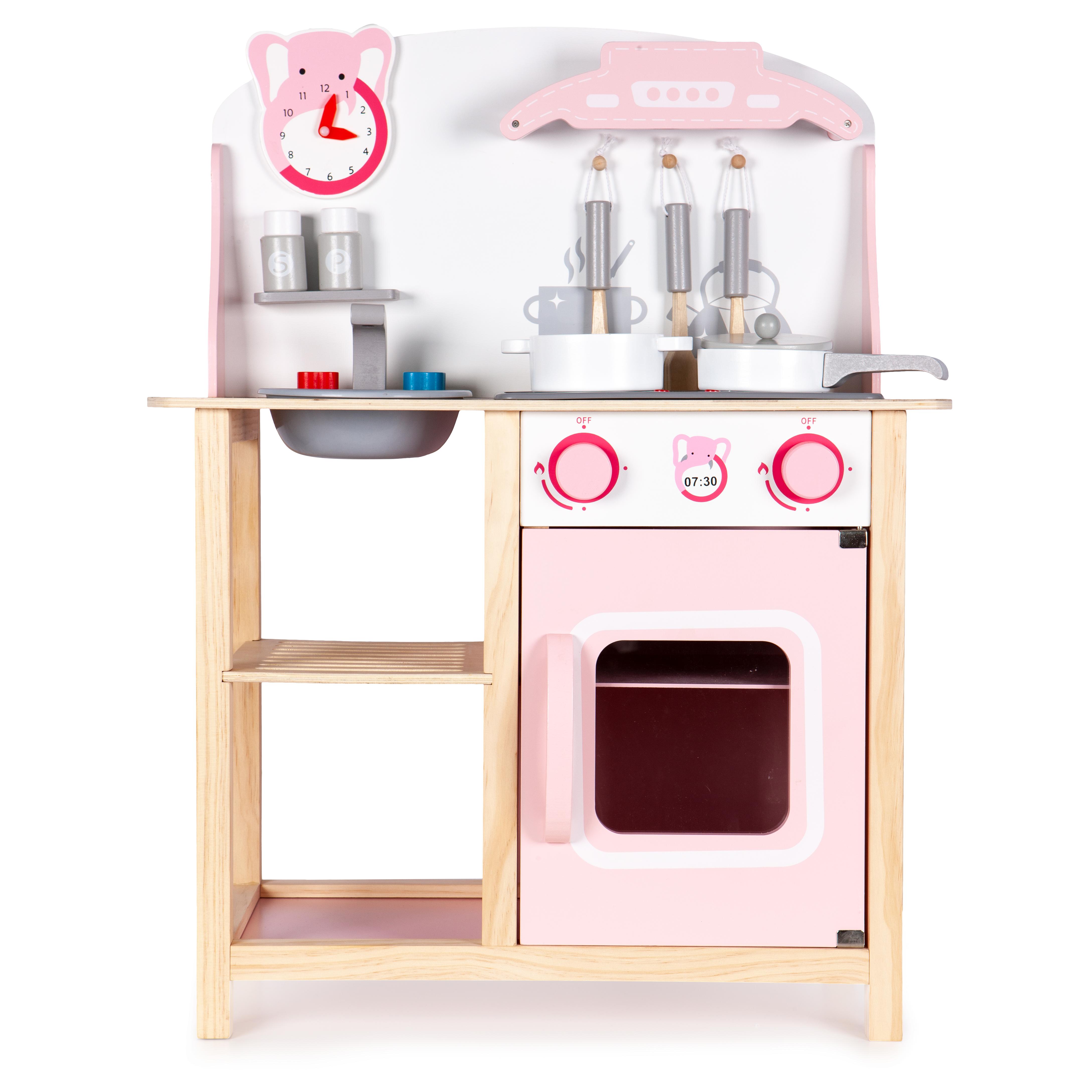 Drewniana kuchnia dla dzieci