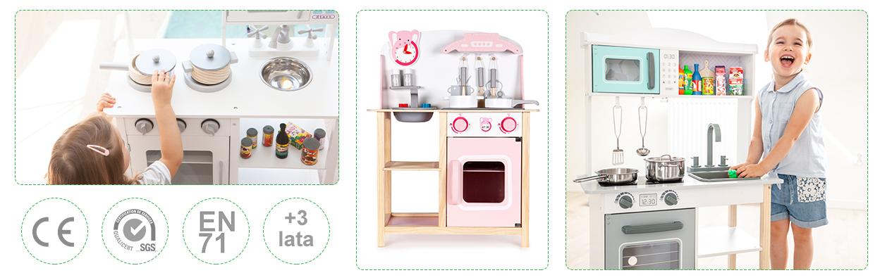 Drewniane kuchnie dla dzieci