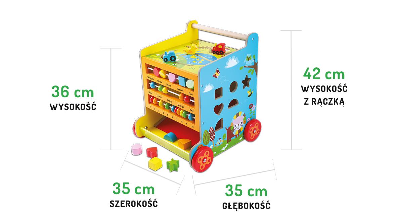 Zabawki edukacyjne Ecotoys